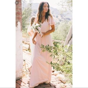 Show Me Your Mumu Blush Pink Maxi Dress